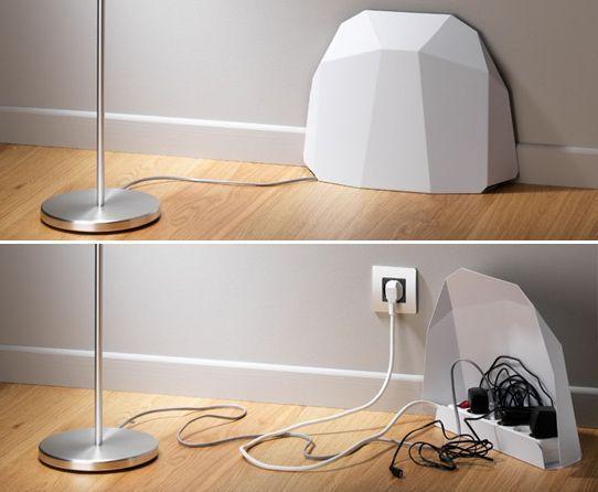 como ocultar cables eléctricos